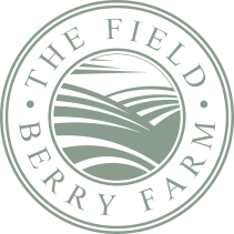 THE FIELD BERRY FARM LOGO transparent round
